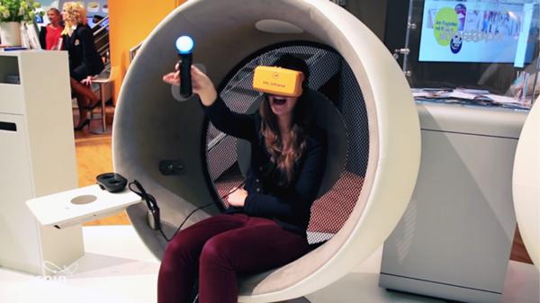 Lufthansa Meraki Virtual Reality India